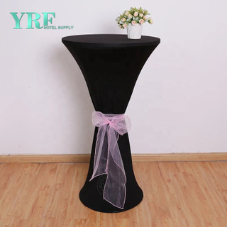Table Hot Sale cocktail Couvre NAPPES Polyester Spandex